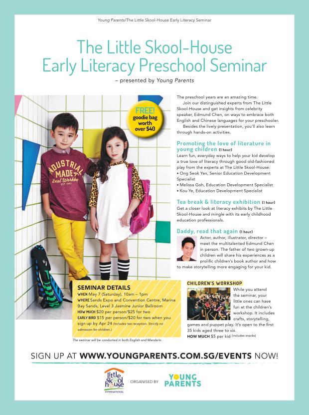 The Little Skool House Preschool Seminar 2016 - Public
